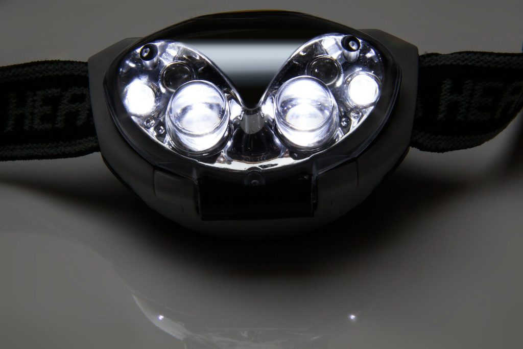multi beam head lamp